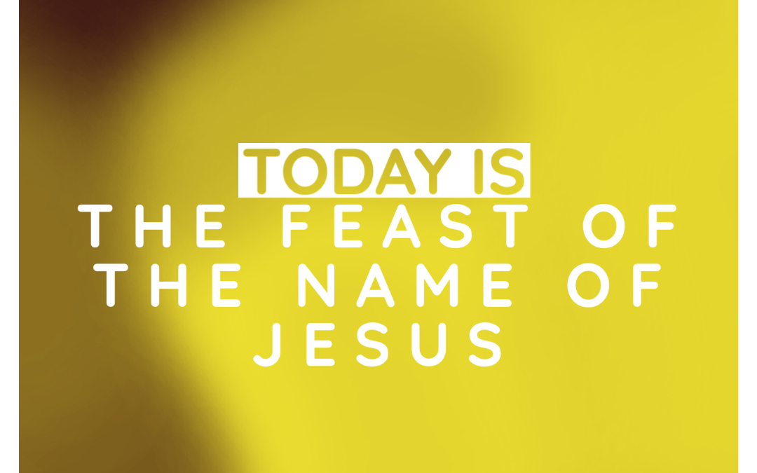 Feast of the Name of Jesus